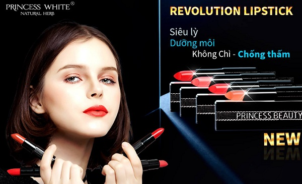 Revolution Lipstick princess white