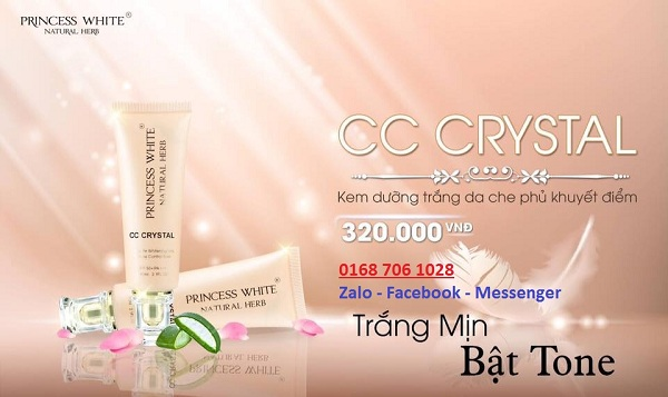 Cc Cream Crystal Princess White