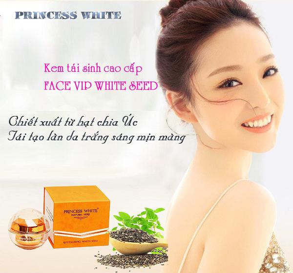 Kem Tái Sinh face vip Princess White