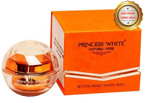 Kem Tái Sinh Princess White – Face Vip – White Seed cho da khỏe đẹp