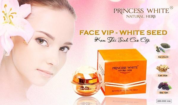 Kem Tái Sinh Princess White