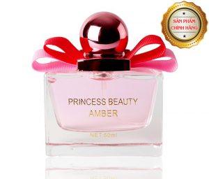 Nước hoa AMBER Princess White hương thơm kéo dài gây nghiện