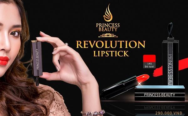 son môi Revolution Lipstick Princess White