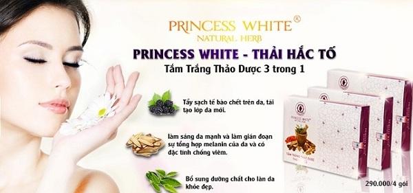 thải hắc tố Princess White